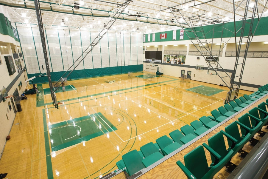 Bright lights shining on physical education at the University of Saskatchewan